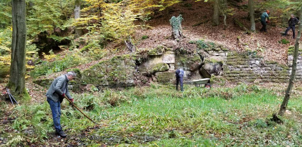 Grimmeisenbrunnen wieder frei